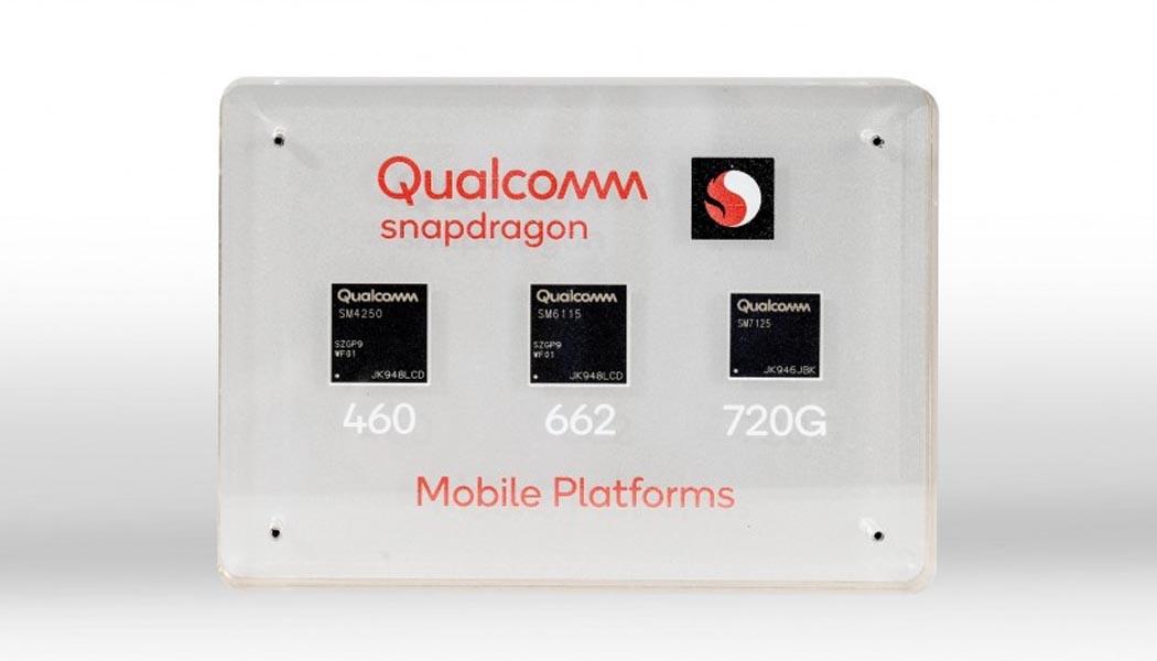 Snapdragon 720G, 662, 460 Chips