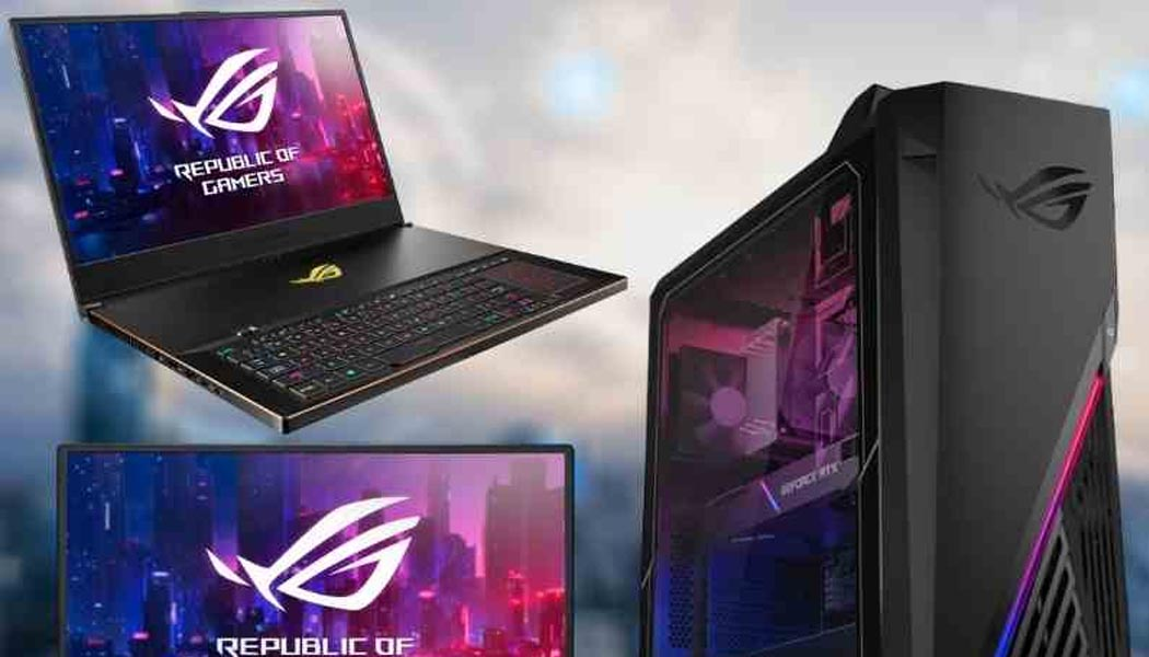 ASUS Refreshes Entire ROG Portfolio Of PC
