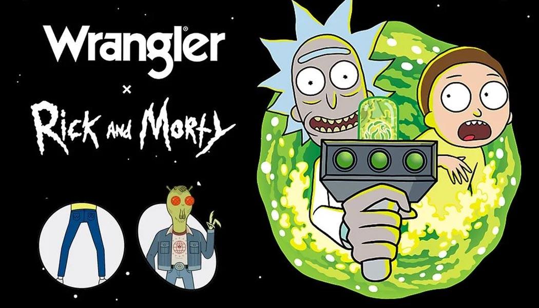 Wrangler Turns 'Rick and Morty