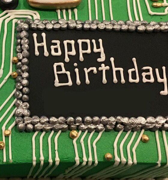 Happy Birthday to Invader